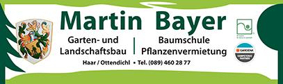 Martin Bayer GbR Garten- und Landschaftsbau, Pflanzenvermietung und Martin Bayer Baumschule - Logo